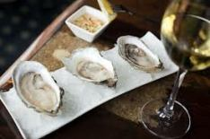 Northern Cross Oysters with Thyme-Shallot Mignonette